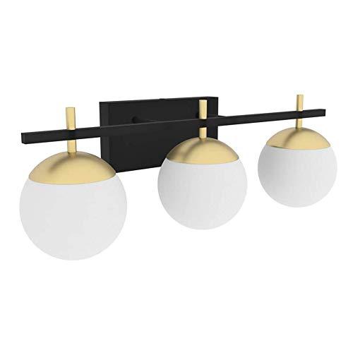 Klighten Lámpara de Espejo para Baño 60CM, lámpara de baño para jaula interior, G9 3-Luz Lámpara de espejo Para Maquillaje, Espejo, Baño(bombilla no incluida)