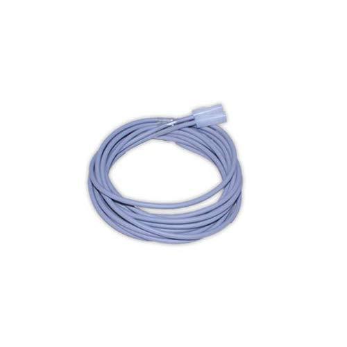 DOJA Industrial | Cable calefactor 60W | 2 metros | 230v | Resistencia de silicona Professional para Incubadora Terrario Reptiles Acuario Semilleros | Sonda calentador Fabricacion de cerveza vino