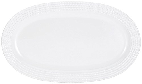 KATE SPADE Wickford Hors D'Oeuvres Tray, 2.70 LB, White