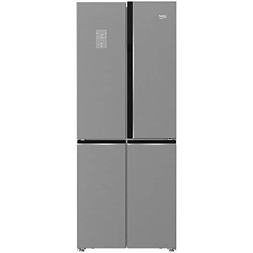 BEKO Frigorifero 4 Porte GNE480E20ZXP Total No Frost Classe A+ Capacità Lorda 480 Litri Colore Inox