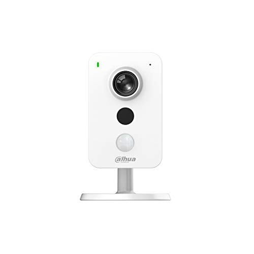Dahua - Telecamera IP PoE Dahua 2 MPX 2.8mm H.265 IR Audio MicroSD Allarme Sensore PIR da interno - IPC-K22A