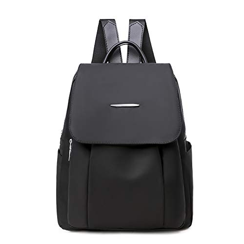 Backpack Rucksack Backpack Women'S Bag Oxford Cloth Shoulder Bag Ladies Fashion 100-Pack Leisure Travel Canvas 31 X 12 X 26Cm