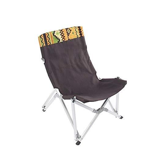 Silla plegable ligera y duradera, ideal para camping, festivales, jardín, caravanas, viajes, pesca, playa, barbacoas