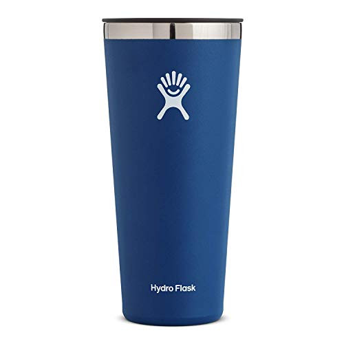 Hydro Flask Tumbler Cup - Stainless Steel & Vacuum Insulated - Press-In Lid - 32 oz, Cobalt