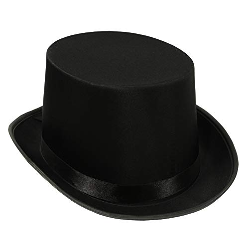 Beistle Satin Sleek Top Hat | Black | (1-Unit)