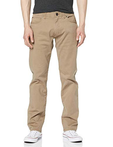 Lee Herren Extreme Motion Straight Pants, Beige (Cougar 77), 32W / 30L