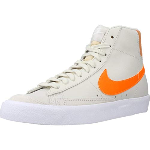 Nike WMNS Blazer Mid '77 Light Bone Total Orange Orange Trance EUR 39