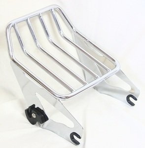 Harley HD Touring Road King Custom FLHRS Detachable TWO-UP Luggage Rack(2009-2014)