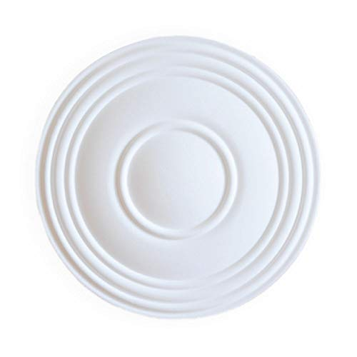 A la Maison Ceilings K27-pw K27 Ceiling Medallion, White