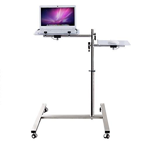 Preisvergleich Produktbild Laptopständer DD Laptop-Tisch,  Der Desktop Ist In Jedem Winkel Einstellbar,  Tragbarer Drehbarer Bodenständer,  2 Höhenoptionen-Mausplatine -Werkbank (Farbe : HA-20+)