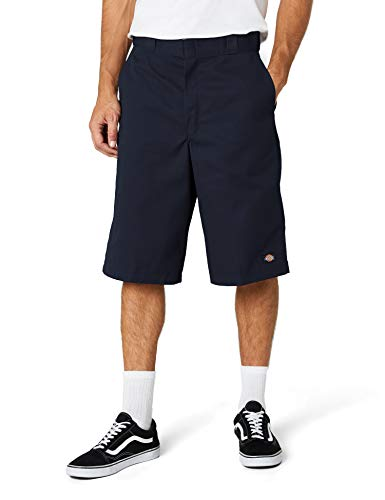 Dickies Men's 13 Inch Loose Fit Multi-Pocket Work Short, Dark Navy, 40
