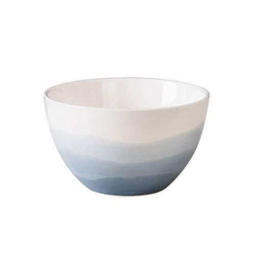 XiYou Cuenco de cerámica Europeo Creativo Grande Cuenco de arroz Occidental Cuenco de Sopa Cuenco de Frutas Cuenco de Ensalada - 3 tamaños (149 cm)