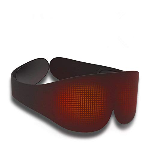 Heated Eye Mask With High Tech Graphene Miric Usb Sleep Mask With Far Infrared Fatigue Relieving And Radiation Free For Dry Puffy Eye Dark Circle Eye Treatment Buy Online In Guernsey At Desertcart