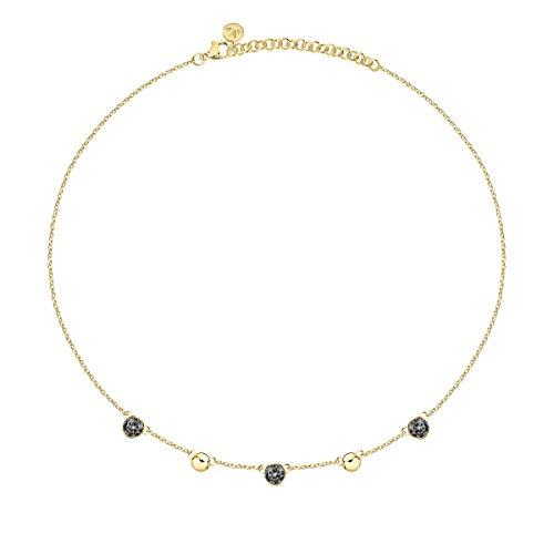 Morellato Collana da donna, Collezione Gipsy, in acciaio, cristalli - SAQG02