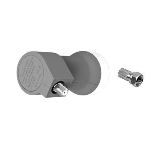 Tecatel Illusion - LNB + 1 Conector, Gris