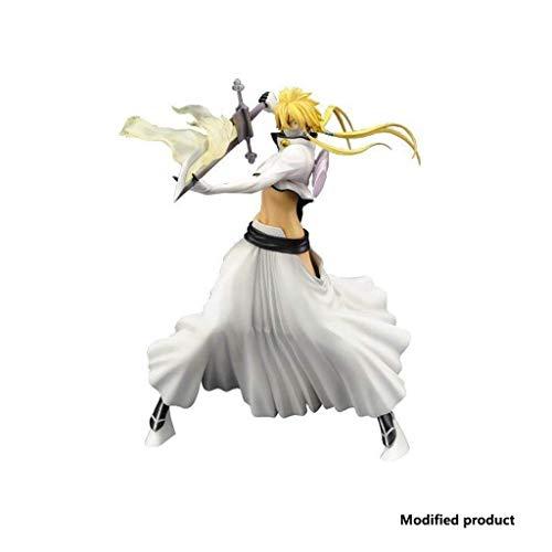 LiLiG Todesmessermodell, dreischneidiges Helibert-Messer im Karton, 9,8-Zoll-PVC-Anime-Modellstatue, Anime-Ornamentdekoration.