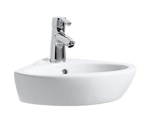 Laufen Eck-Waschtisch Pro A mittig 440x380 LCC weiß, 8169584001041