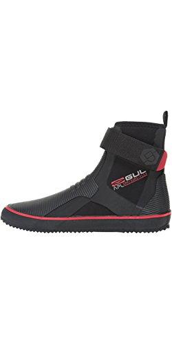 Gul 2017 Purpose Lace 5mm Boot BLACK/RED BO1304-B2 Boot/Shoe Size UK - UK Size 6