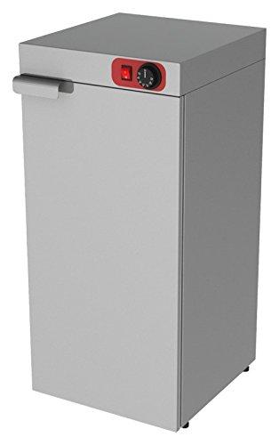 Wärmeschrank, 400x420x820mm, Edelstahl, 1 Tür,