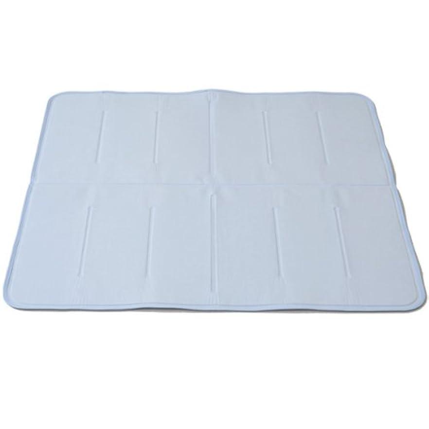誤解させる日の出朝ごはんヒラカワ 洗えるひんやりジェルマット(片面メッシュ) シングル(90×90)