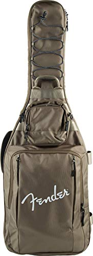 Fender ギターギグバッグ Limited Edition Urban Gear Electric Guitar Gig Bag, Coyote