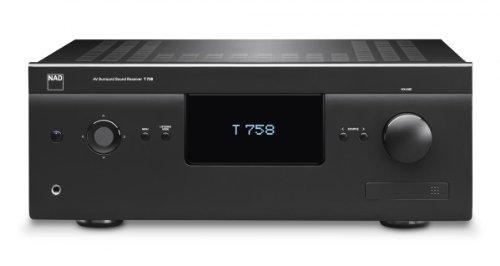 NAD T758 V3i Nero Amplificatore Home Cinema 7.1