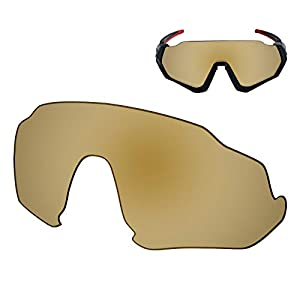 Galvanic Replacement Lenses for Oakley Flight Jacket OO9401 Sunglass – Multiple Choices