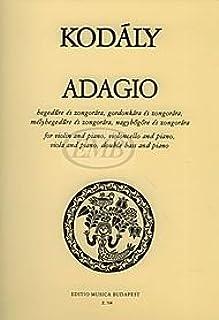Adagio for Violin (viola, cello, or double bass) and Piano