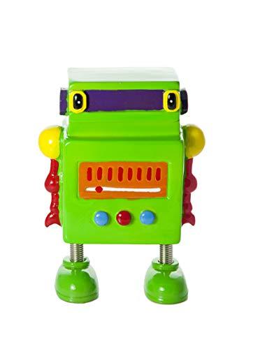 Mousehouse Gifts Grüne Roboter Kinder Spardose Sparbüchse für Jungen