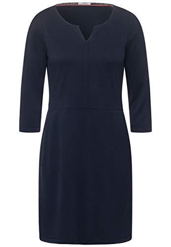 Cecil Damen Jersey-Kleid mit Taschen deep Blue XL