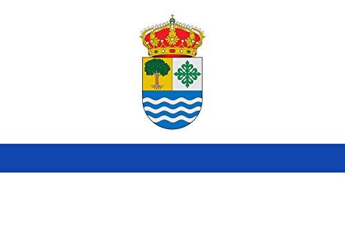 magFlags Bandera Large Municipio de Salorino; en Cáceres, España | Bandera Paisaje | 1.35m² | 90x150cm