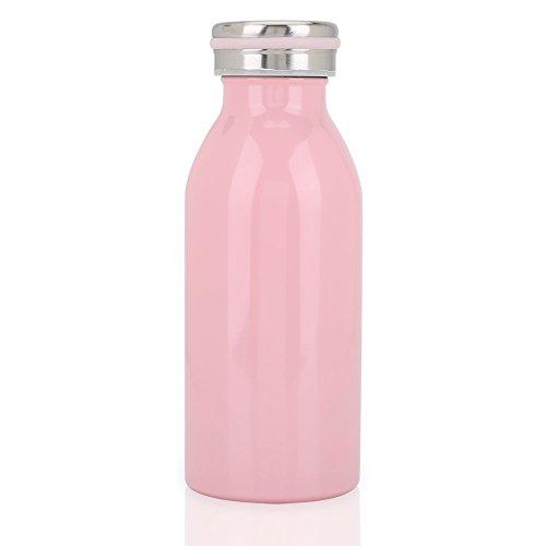 Botella de acero inoxidable de doble capa térmica mantiene el frio o el calor