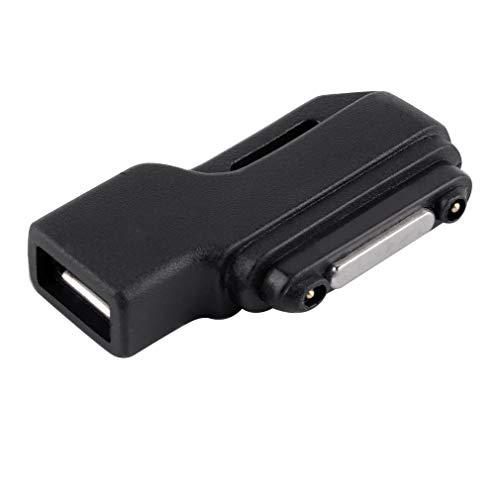 Adaptador de Base de Carga Micro USB a Cargador magnético para Sony Xperia Z1 / Z2 / Z3Negro