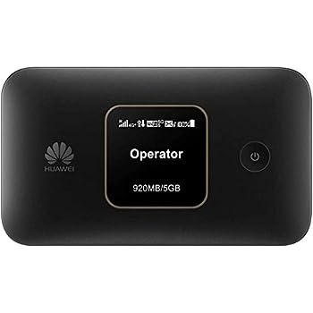 Huawei E5785-92c- 4G CAT6 / 300Mbps Travel Mobile Wi-Fi Hotspot with Long-lasting 3000mAh Battery- (Genuine UK Warranty Stock)- Black