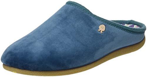 Gioseppo 46777-P, Zapatillas de Estar por casa con talón Abierto para Mujer, Azul (Azul...
