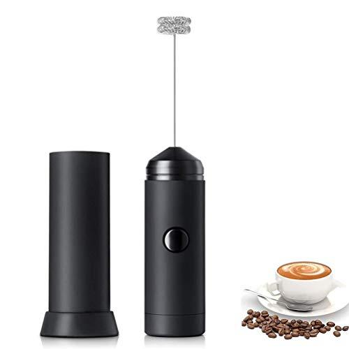 CuiCui Milchsch/äumer Elektroschaumhersteller Handschaum Hochgeschwindigkeits-Getr/änkemischer Schaumstab F/ür Kaffee Latte Capuccino