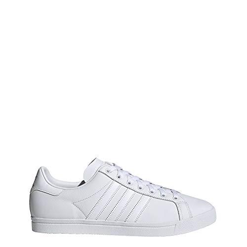 adidas Originals Coast Star, Zapatillas Deportivas. para Hombre, Blanco, Blanco, Gris, 36 EU