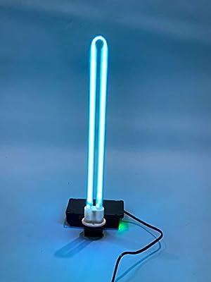 38W 60W Uv Disinfection Quartz Lamp,Ultraviolet Germicidal Light 110V,Durable Uv Lamp(Uvc Lamp Portable Anti-Virus UV Ozone Sterilization 99%) with third Gear Timing Remote Control (38W)