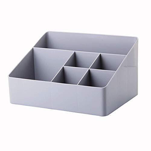 chunnron Skrivbord prydlig skrivbordsförvaring liten förvaringsbox stationär organisering skrivbordsarrangör barn skrivbord låda arrangör dekorativa förvaringslådor grå