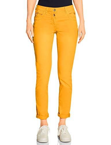 CECIL Damen 372835 Gesa Hose, Gelb(mango yellow)W30/L32