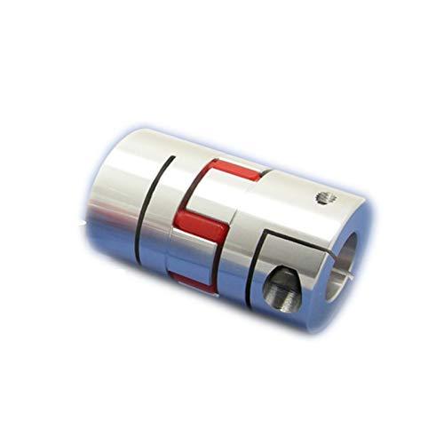 Basic Cellphone Cases Cnc Parts Coupler Acoplador de eje flexible para conector de codificador de motor paso a paso D20 L34 aleación de aluminio (diámetro interior: 6 mm x 6 mm)