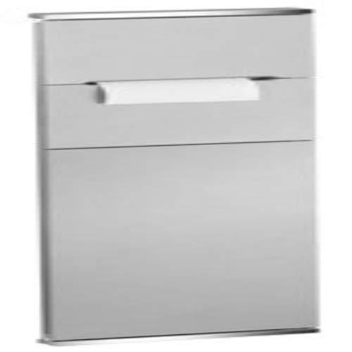 Keuco 44964015102 Modul WC 1 Plan Integral, lackiert/rechts, verchromt / weiß