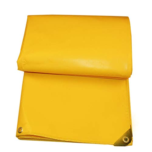 →Gouden gele pvc mes schrapen doek regendoek zeildoek waterdichte zonnebrandcrème doek dikke canvas push-pull top doek op maat