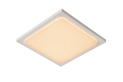 Lucide ORAS - Plafonnier Extérieur - LED - 1x20W 3000K - IP54 - Blanc
