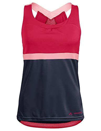 Vaude Damen Trikot Women's Advanced Top, Cranberry, 36, 41962