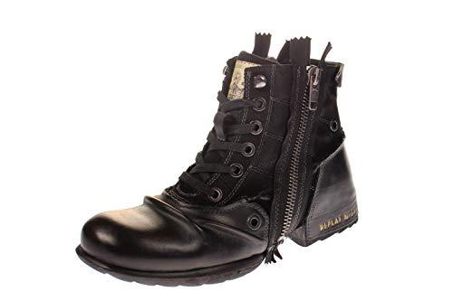 Replay Herren CLUTCH Biker Boots, Schwarz (BLACK 3), 44 EU