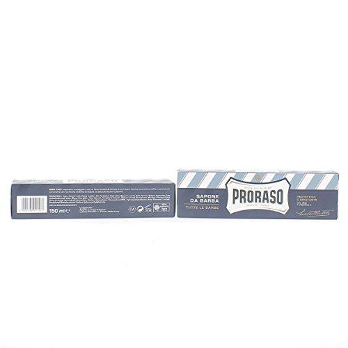 3x Proraso Rasierseife seife cream shaving soap mit Wahre Aloe Vitamin E 150ml