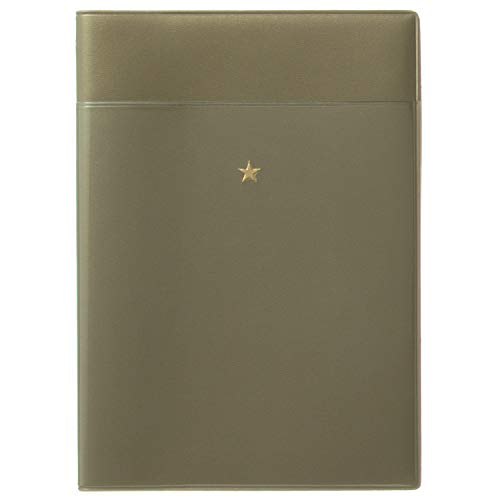 ラコニック 手帳 2020年 3月始まり B6 ウィークリー ポケット ゴールド LRM42-190GD