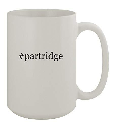 #partridge - 15oz Ceramic White Coffee Mug, White