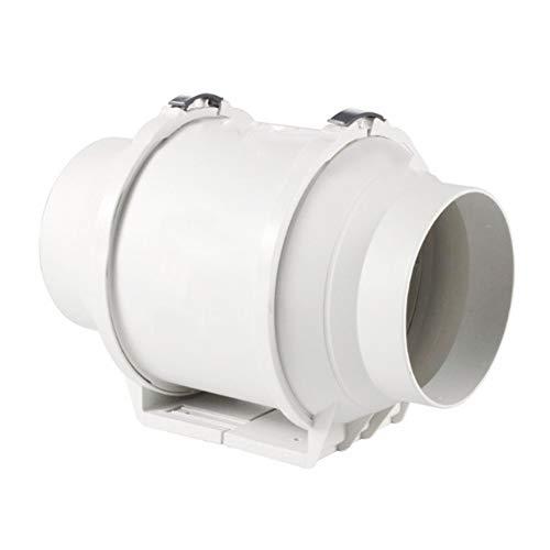 Leslaur Pipeline Abzugshaube 6 Zoll Leistungsstarke Silent-Badezimmer Ventilator Lüftungsventilator Ist Geeignet Für Kleine Boote Kajaks Kanus Beiboot